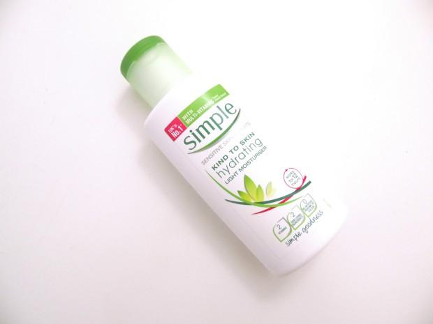 simple moisturiser